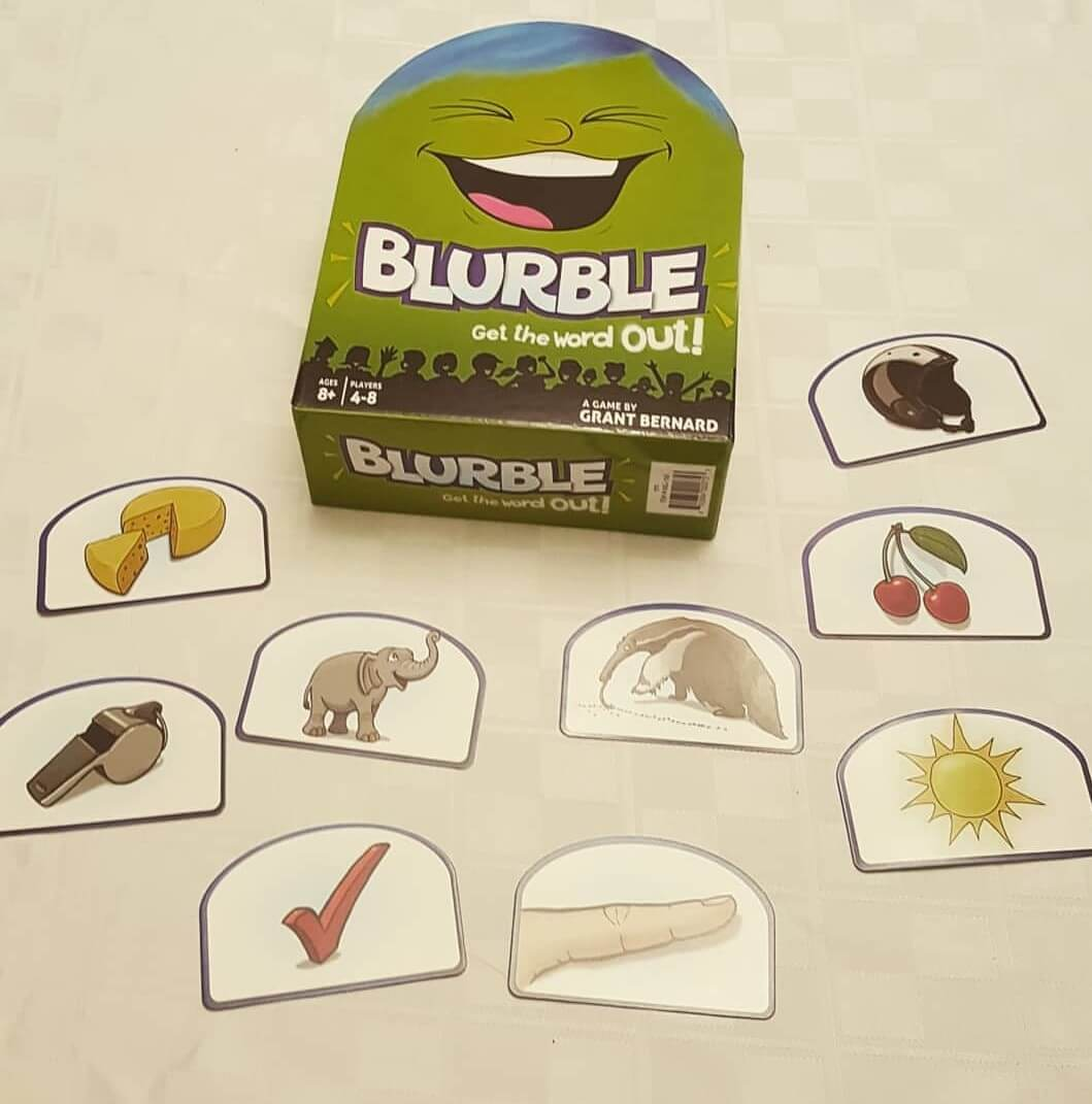 Family Board Game Review: Blurble