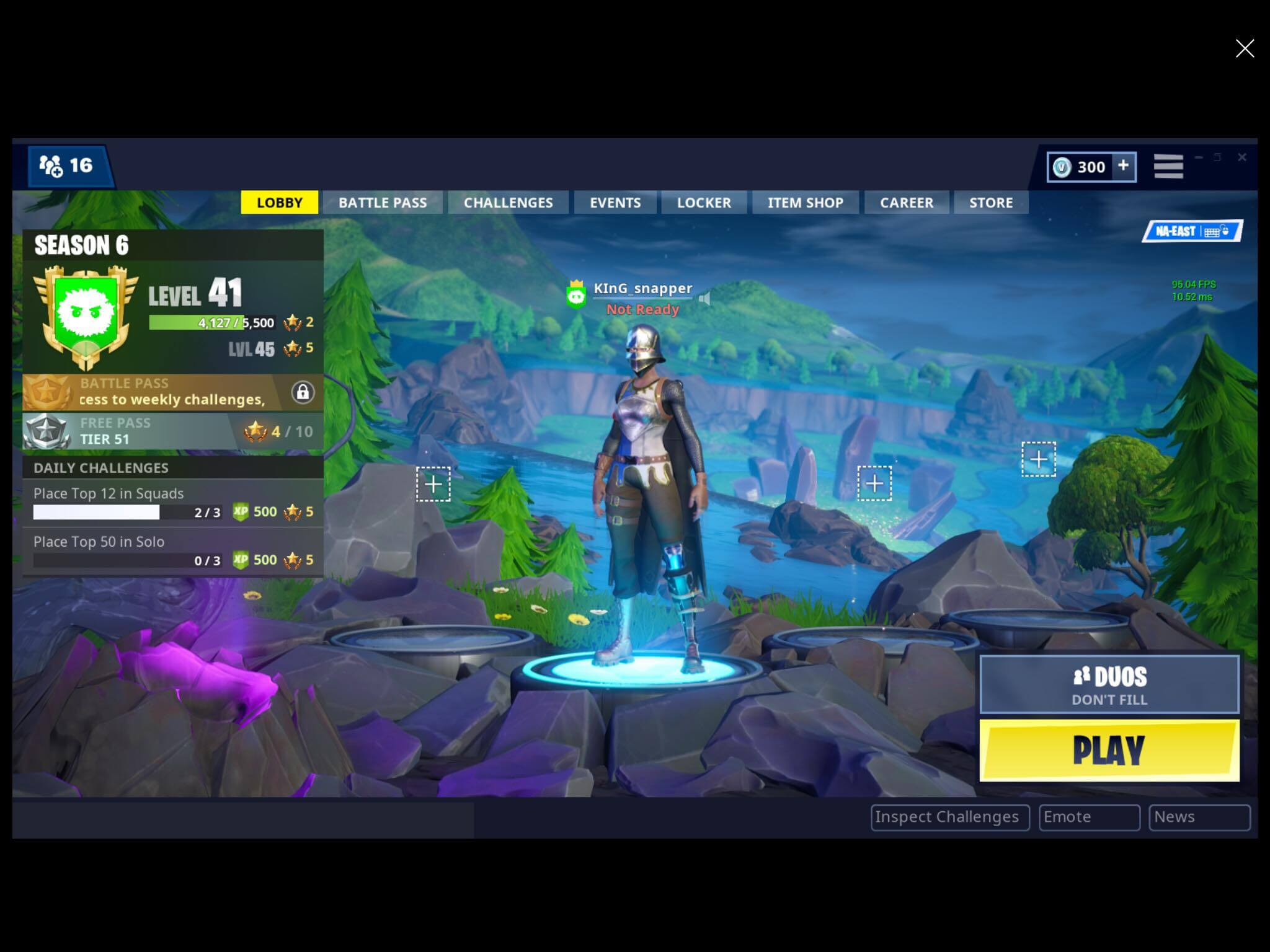 Parental Controls for in Fortnite: Battle Royale on Windows