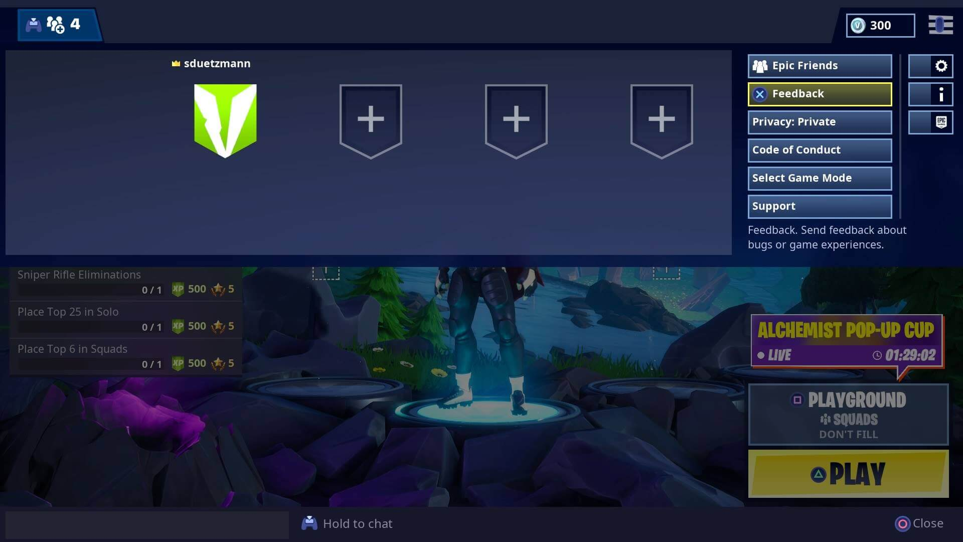 Parental Controls for Fortnite: Battle Royale on PlayStation 4 –