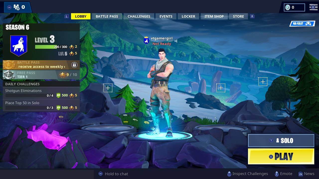 Parental Controls for Fortnite: Battle Royale on Nintendo Switch –