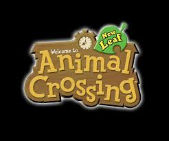This is the logo for Animal Crossing: New Leaf