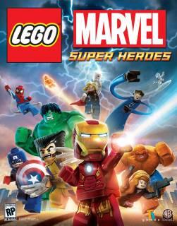 LEGO Marvel Super Heroes cover art