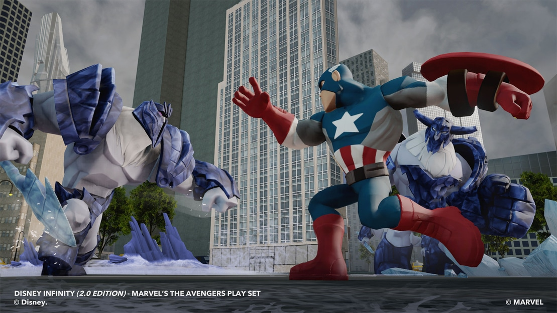 Captain America shield throw