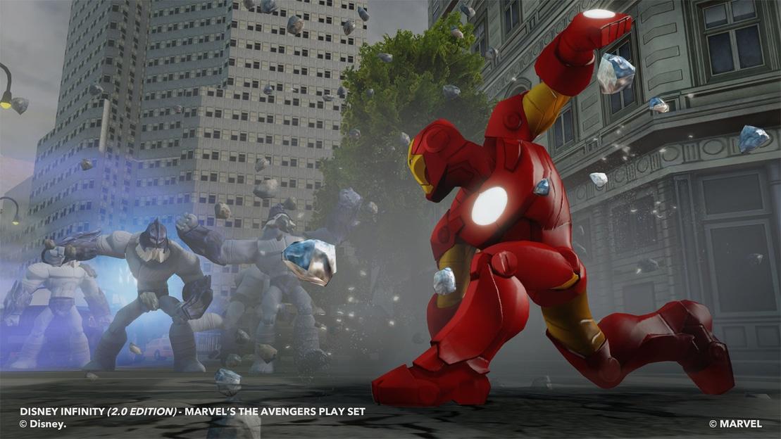 Iron Man ground punch