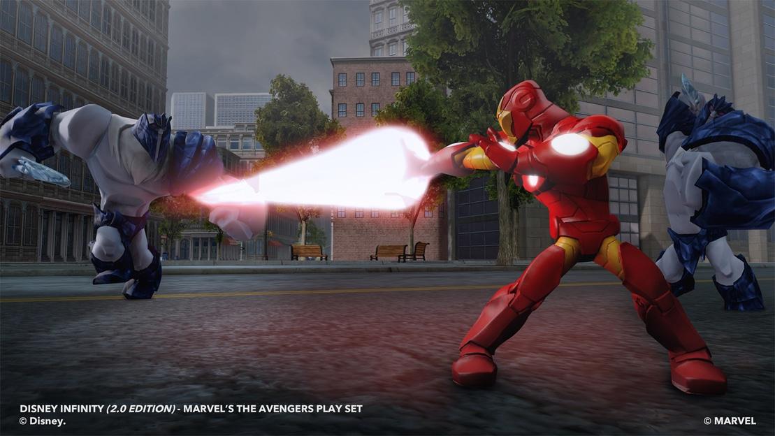 Iron Man repulsor blast