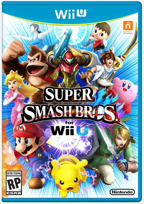 Super Smash Brothers WiiU Box Art