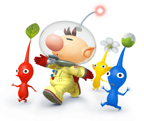 Super Smash Brothers Characters - Pikmin & Olimar