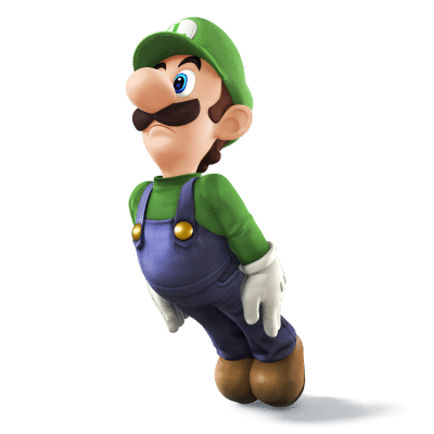 Super Smash Brothers Characters - Luigi