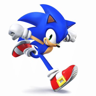Super Smash Brothers Characters - Sonic the Hedgehog