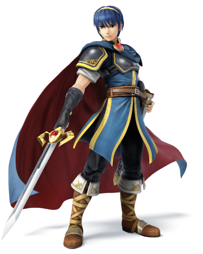 Super Smash Brothers Characters - Marth