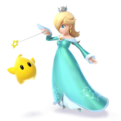 Super Smash Brothers Characters - Rosalina and Luma