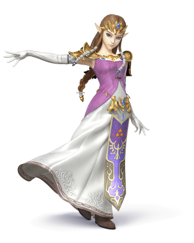 Super Smash Brothers Characters - Princess Zelda