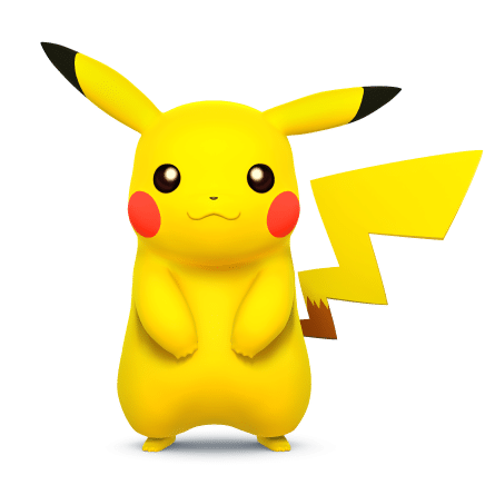 Super Smash Brothers Characters - Pikachu