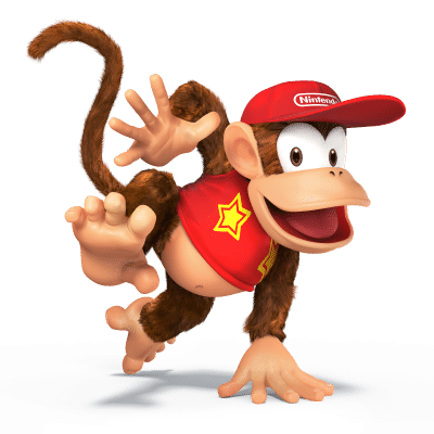 Super Smash Brothers Characters - Diddy Kong