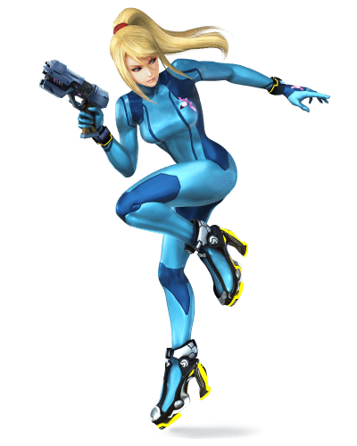 Super Smash Brothers Characters - Zero Suit Samus
