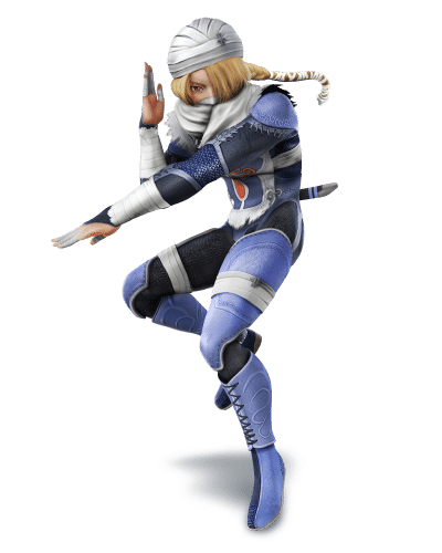 Super Smash Brothers Characters - Sheik