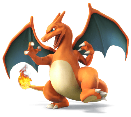 Super Smash Brothers Characters - Charizard