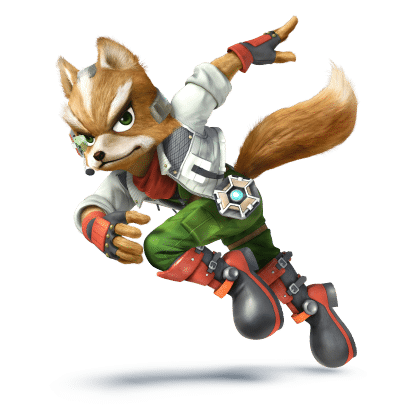 Super Smash Brothers Characters - Fox