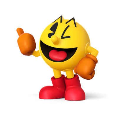 Super Smash Brothers Characters - Pac Man