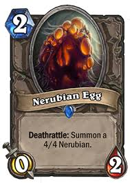 Nerubian egg - Hearthstone Curse of Naxxramas Card