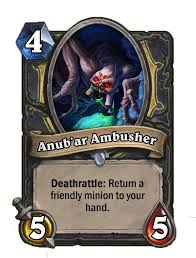 anubar ambusher - Hearthstone Curse of Naxxramas Card