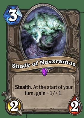 Shade of Naxxramas - Hearthstone: Curse of Naxxramas Card