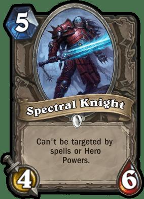 Spectral Knight Hearthstone: Curse of Naxxramas card