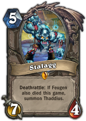 Stalagg - Hearthstone: Curse of Naxxramas Card