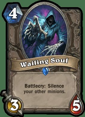 wailing soul - Hearthstone: Curse of Naxxramas Card