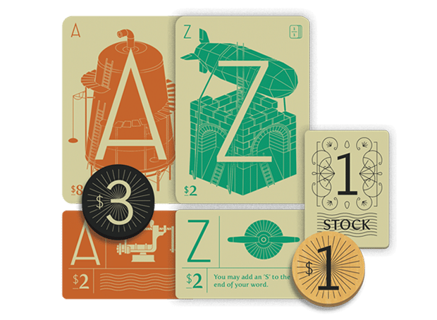 Letter Tycoon Components