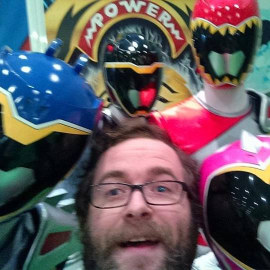 Me and the Power Rangers