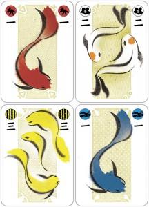 Koi Pond Card Game