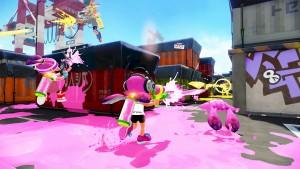 Wii U Splatoon Screenshot Port Mackerel