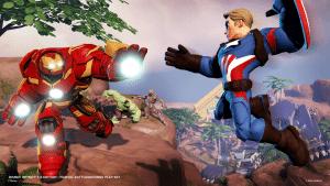 cap and iron man