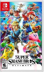 super Smash Bros Ultimate Box Art
