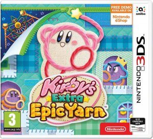 kirbys extra epic yarn box art